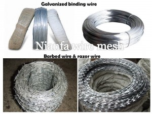 galvanized wire &barbed wire